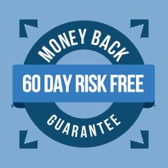 60 Day No Quibble, Full Refund Guarantee